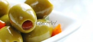 Pepper-Stuffed Green Olives