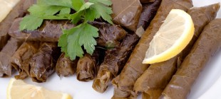 Turkish Style Stuffed Vine Leaves